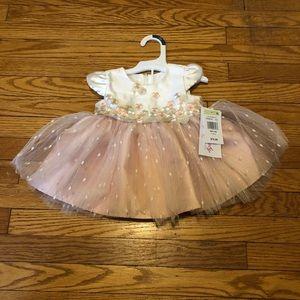 NWT Baby Girl Dress - Size 3-6 M
